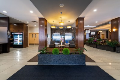Architectural photoshoot at doubletree by hilton hotel