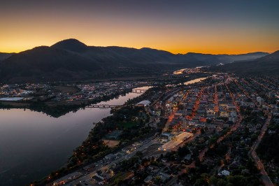 Aerial/Drone photoshoot of Kamloops, BC