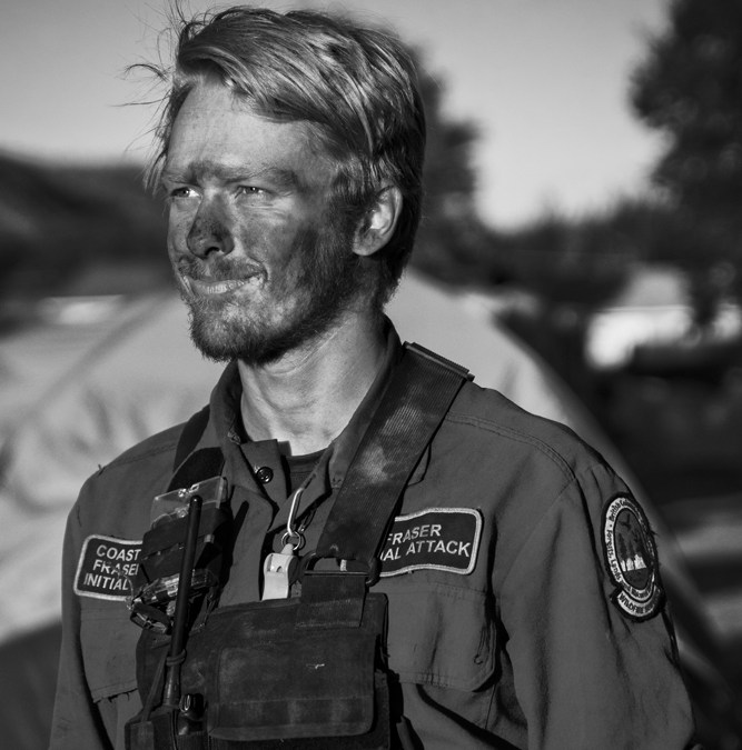 BC Wildfire Service Initial Attack Crew Member Dylan Paterson