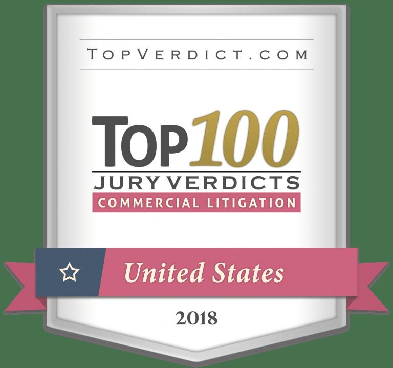 2018-top100-commercial-litigation-verdicts-us-firm Olson Construction Law