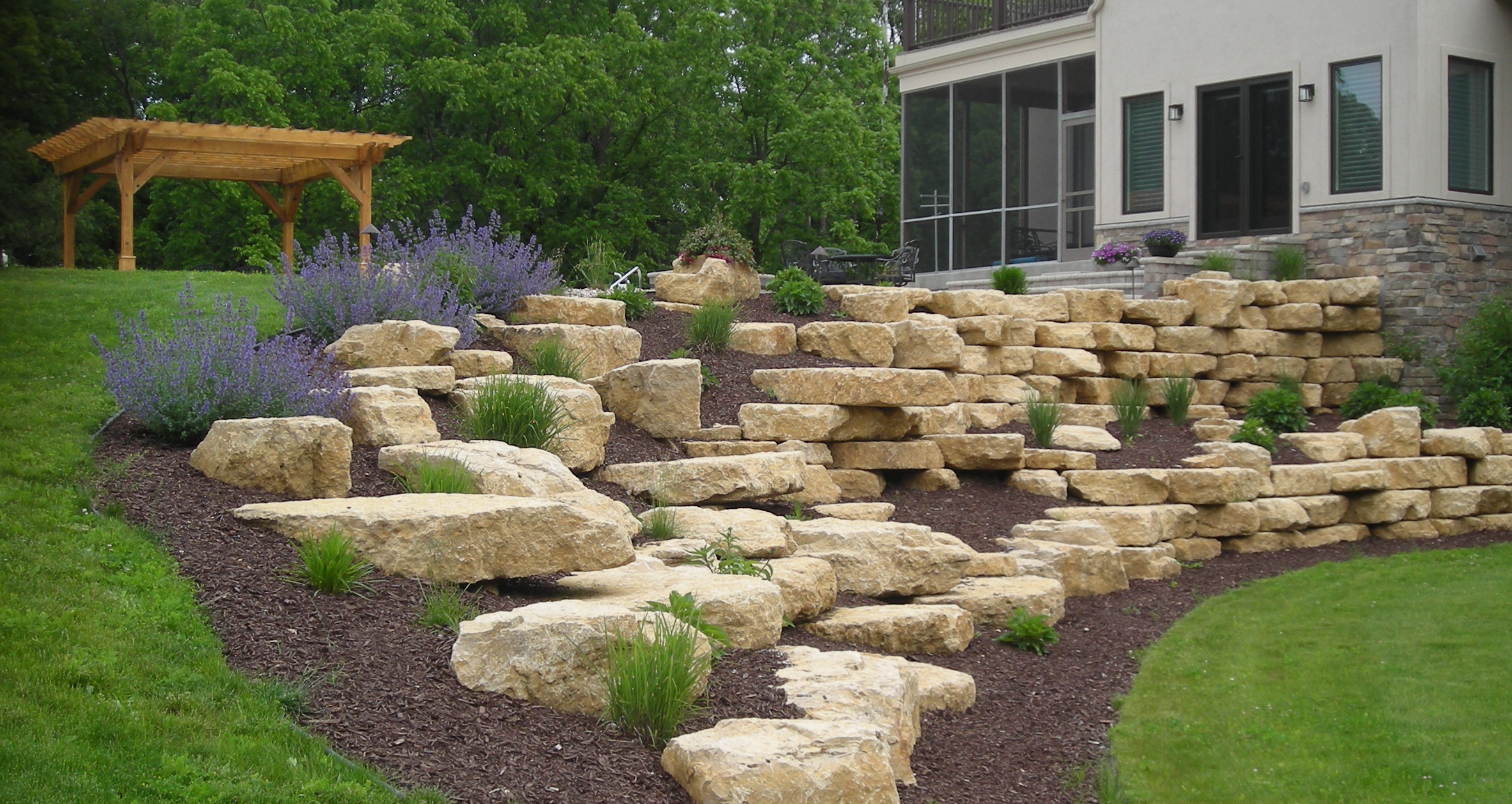 How Build Rock Garden