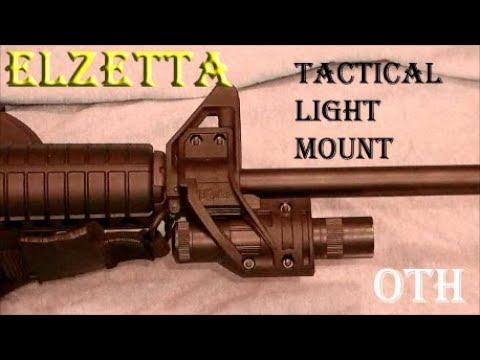 ElZetta ZFH1500 Tactical Light Mount ~ Product Review