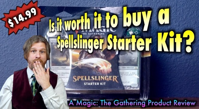 Is it worth it to buy a Spellslinger Starter Kit? A Magic: The Gathering Product Review