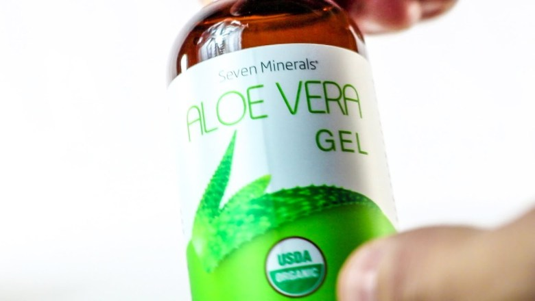 Product Review 2018 – Unboxing Seven Minerals USDA Organic Aloe Vera Gel – Great for Skin Health!