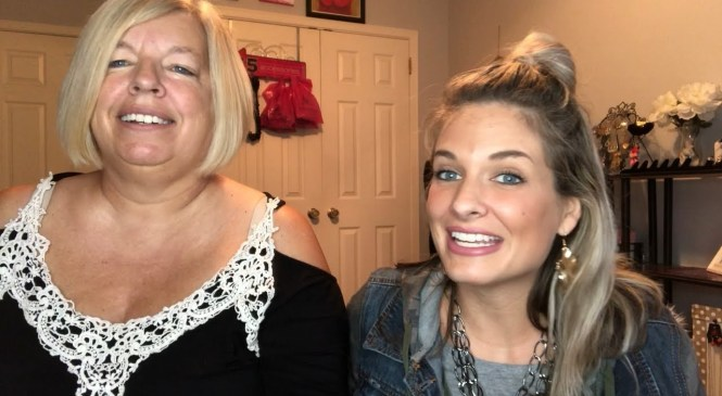 Testing A Face Lifting Product! Product Review With My Mom!