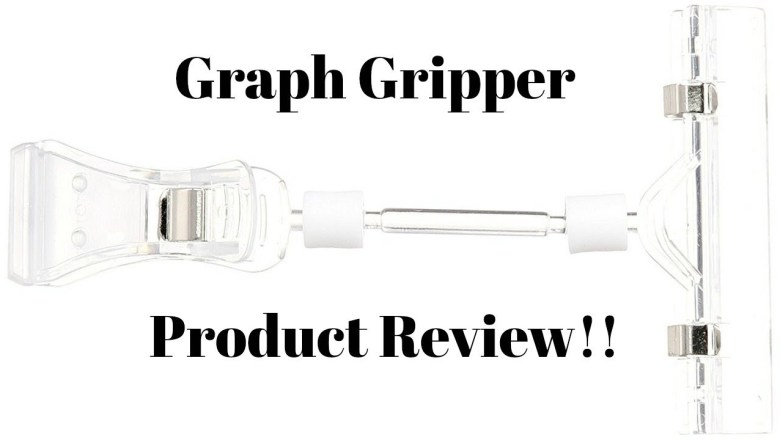 Cross Stitch/Flosstube # Graph Gripper product review!!!