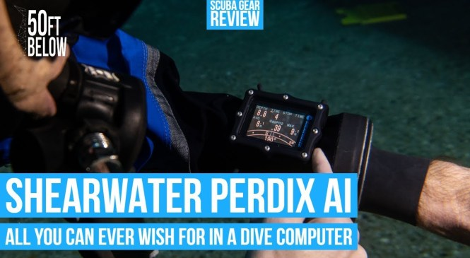 Shearwater Perdix AI Dive Computer Review | All You Can Ever Wish For In A Dive Computer