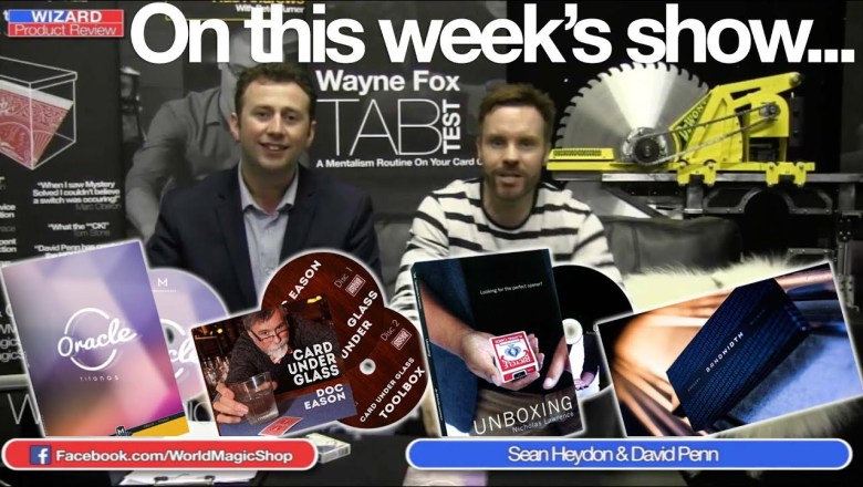 Wizard Product Review Live 239, 11th March 2015