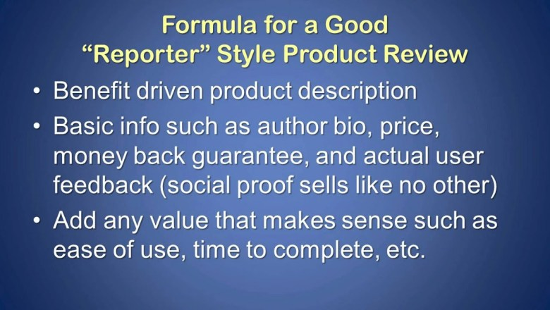 How to Write a Product Review – Affiliate Content Creation