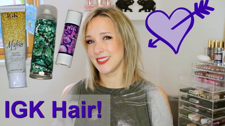 IGK Hair Product Review!