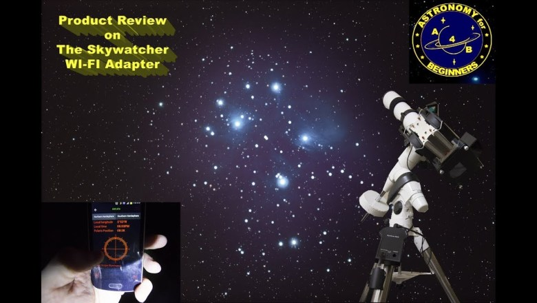 Product Review on the Skywatcher WI FI Adapter