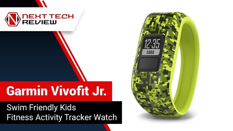 Garmin Vivofit Jr  Swim Friendly Kids Fitness Activity Tracker Watch Product Review  – NTR
