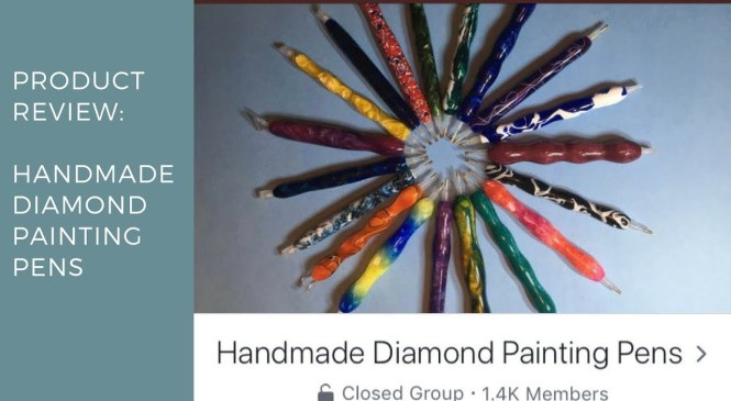 Product Review: Handmade Diamond Painting Pens