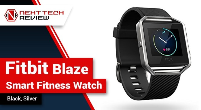 Fitbit Blaze Smart Fitness Watch, Black, Silver Product Review  – NTR