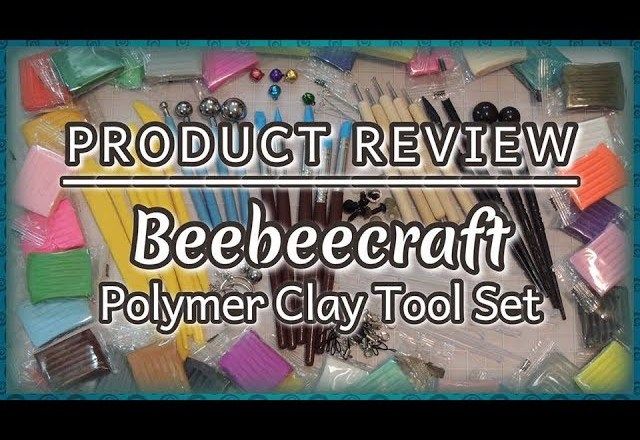 Product Review ~ Beebeecraft Polymer Clay Tool Set