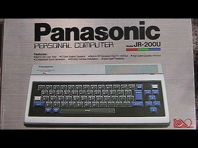 Panasonic JR-200U rare vintage computer review