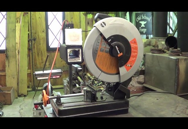 Poor Man's Product Review – Lowes Evolution Rage 2 Steel Cut Off Saw