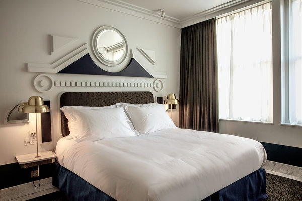 At a London Hotel, Art Deco Design and Stylish Cocktails