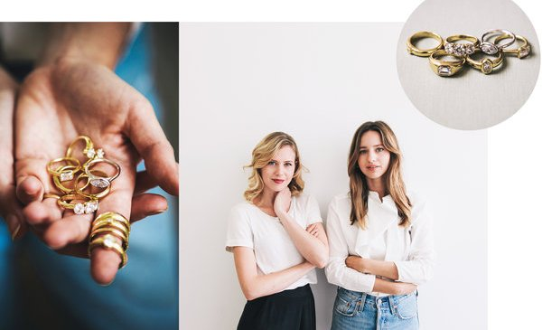 A Millennial Spin on Engagement Rings