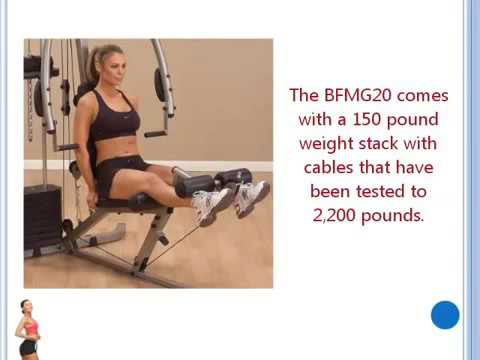Home Gym Equipment – Best Fitness BFMG20 – – Product Review