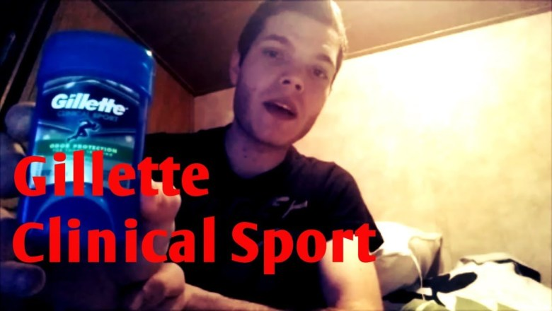 Gillette Clinical Sport (Product Review)