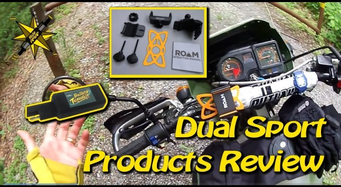 Roam Phone Holder, Battery Tender USB – Dual Sport Product Reviews-