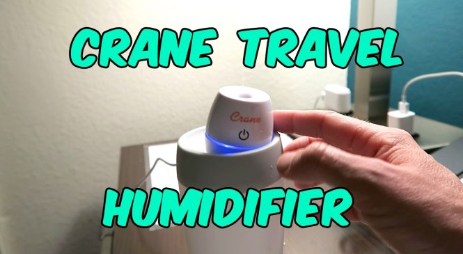 Crane Travel Humidifier Product Review Ultrasonic Cool Mist