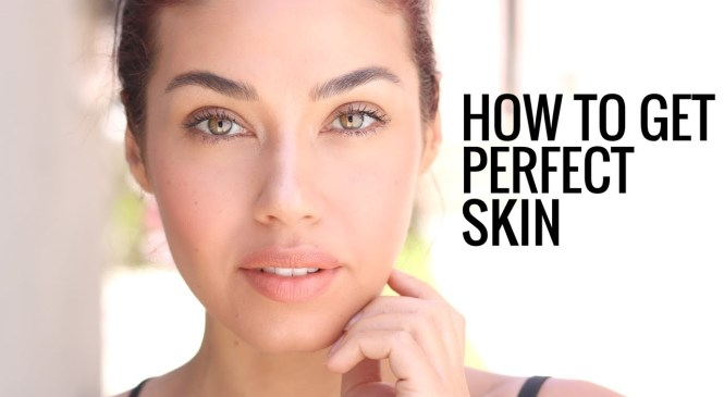 HOW TO HAVE  PERFECT SKIN | My Clear Skin Skincare Secrets!