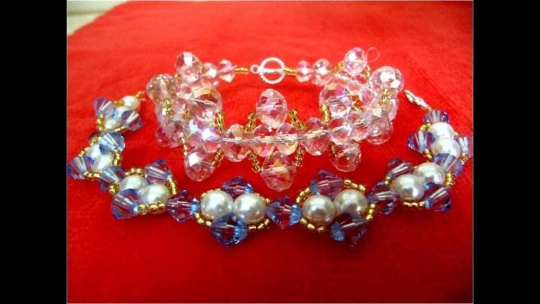 DIY accesorios de moda  pulseras con cristales – fashion accessories bracelets with crystals