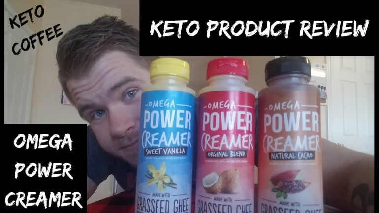 OMEGA POWER CREAMER | KETO COFFEE | PRODUCT REVIEW!!!