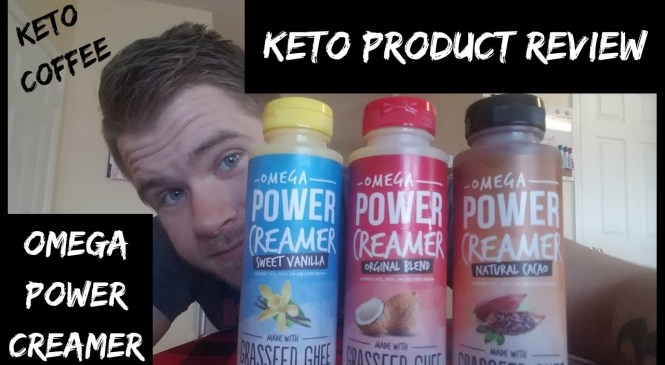 OMEGA POWER CREAMER   KETO COFFEE   PRODUCT REVIEW!!!