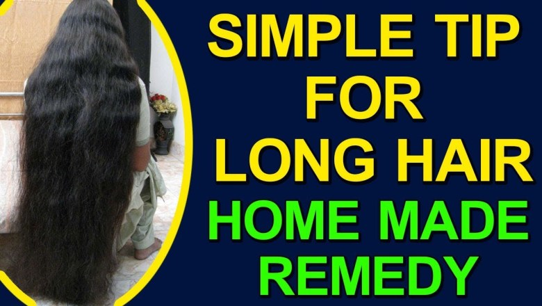 SIMPLE TIP FOR LONG HAIR | BEAUTY CARE HEALTH TIPS | HOME MADE REMEDY | 100% Health