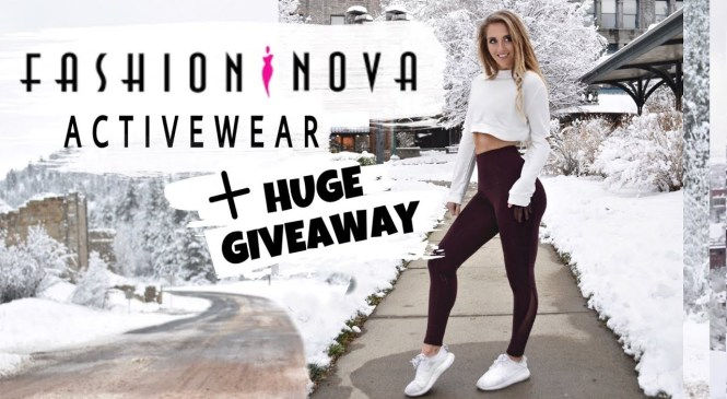 Fashion Nova Activewear Review + Huge Giveaway *Not Sponsored*