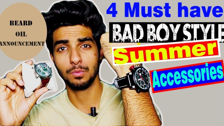 4 BEST summer accessories for Indian men | Men's fashion India 2017
