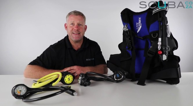 Scubapro Travel Lite Hard Gear Set Product Review by Kevin Cook | SCUBA.co.za