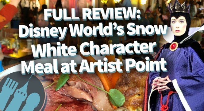 FULL REVIEW of the NEW Snow White Storybook Character Meal in Disney World