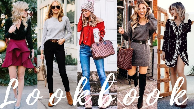 Stylish Outfit Ideas for December | 2018 Winter Fashion Lookbook