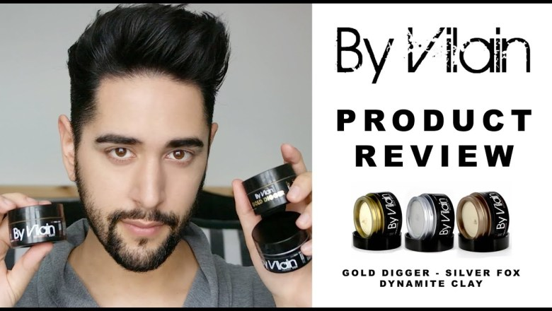By Vilain Product Review: Gold Digger, Silver Fox and Dynamite Clay (Men's Hair)  ✖ James Welsh