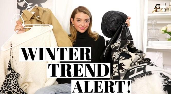 Winter Trend Alert | Current Fashion Favs!