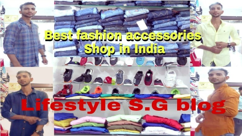 CLOTH SHOP PROMOTION VIDEO BY LIFESTYLE S.G || BUY FASHION ACCESSORIES IN GOOD PRICE