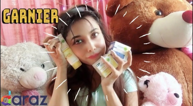 Winter Skincare Garnier Product Review from Daraz | Nazmee Jannat | New Video 2018