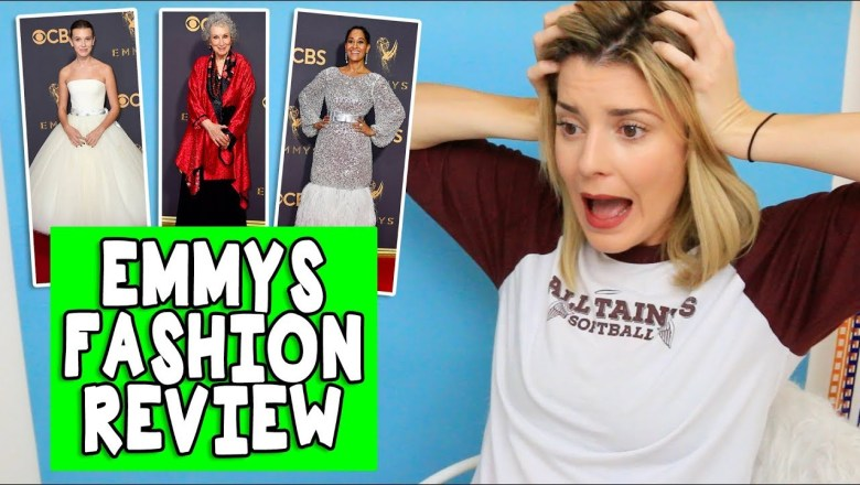 EMMY FASHION REVIEW // Grace Helbig