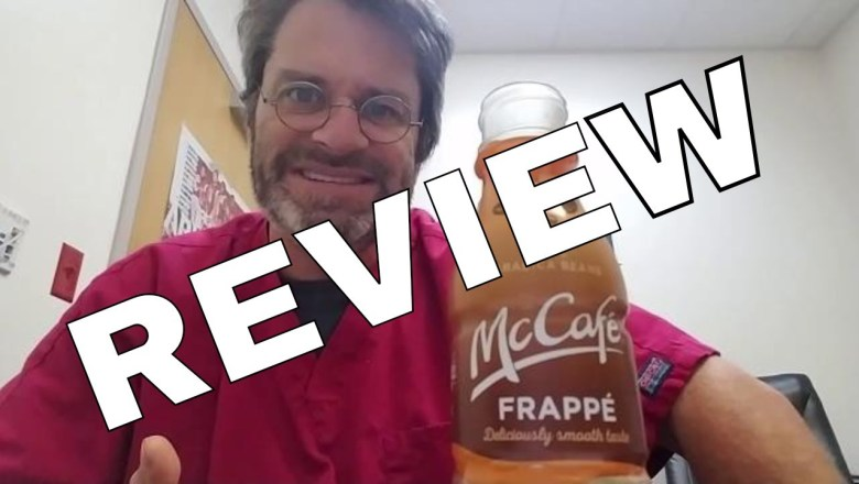 McDonald's McCafe Frappe Caramel Coffee Beverage Review