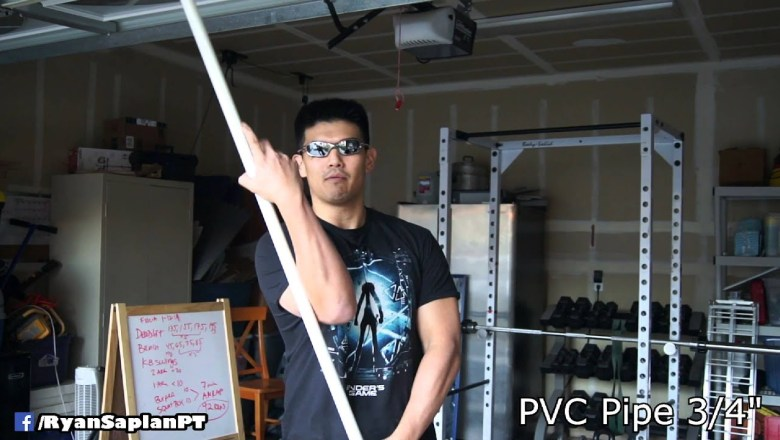 PVC Pipe fitness product review best 3 dollar fitness purchase