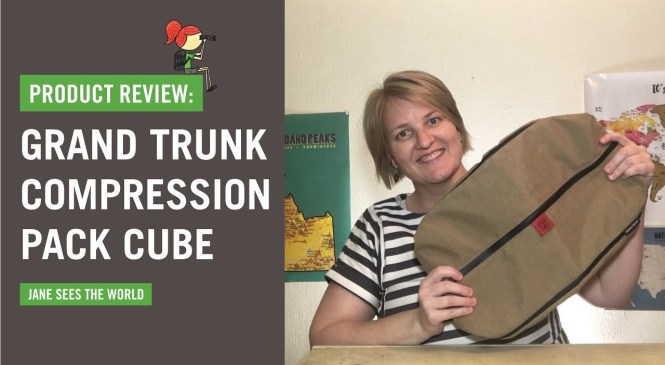 Grand Trunk Compression Pack Cube Travel Product Review