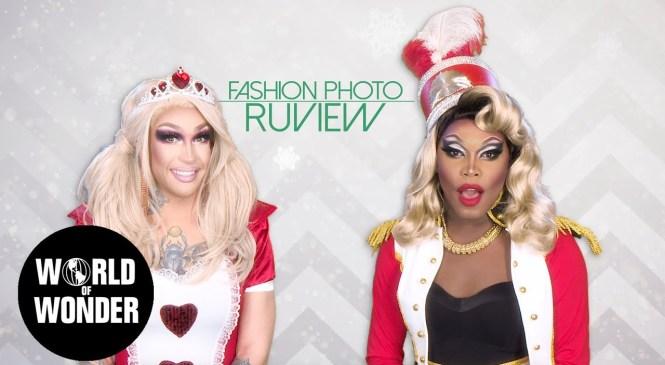 FASHION PHOTO RUVIEW: Holi-Slay Spectacular with Kameron Michaels and Asia O'Hara!