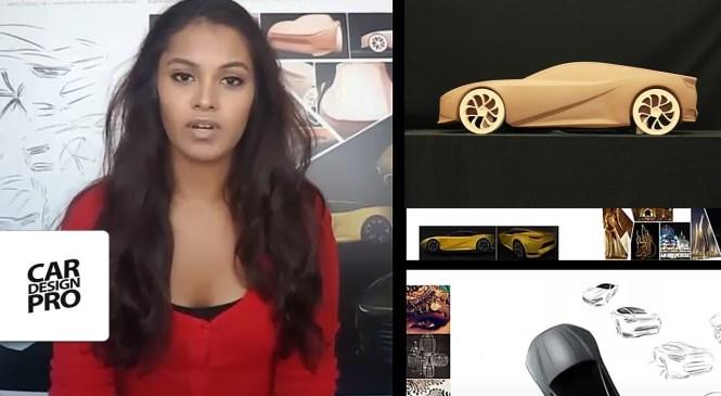 Automotive Design Explained by Shamaila Khan, Clay Sculptor at Jaguar
