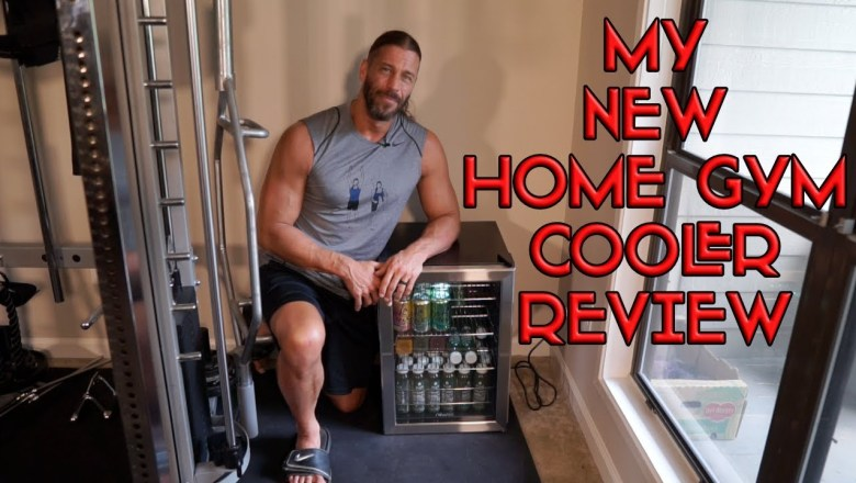 My New Home Gym Cooler- NewAir Beverage Cooler Review