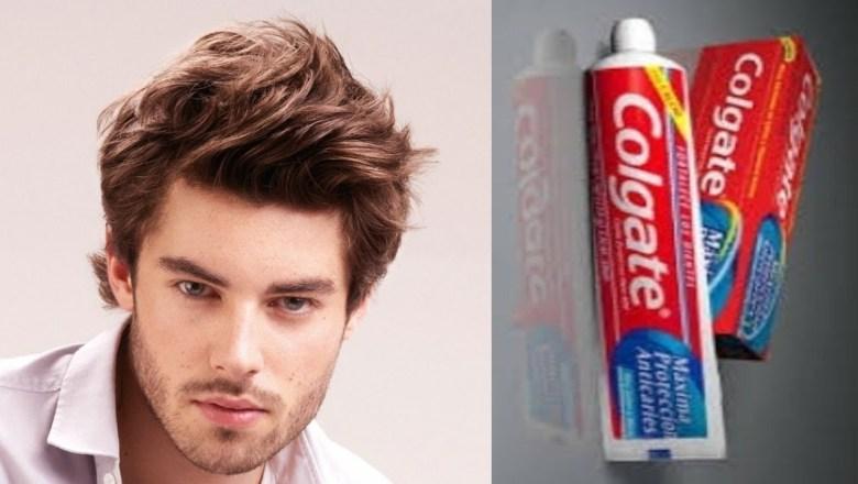 Top 5 Amazing Toothpaste Beauty Hacks For Men | Toothpaste Beauty Benefits Of Men – Beauty Care Men