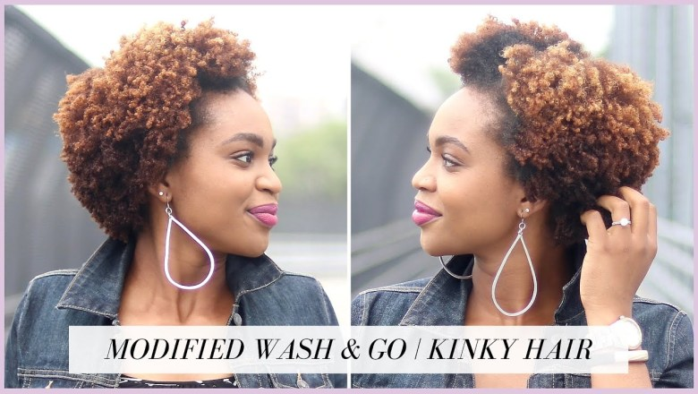 Modified Wash and Go on Kinky Natural Hair | Cantu Product Review